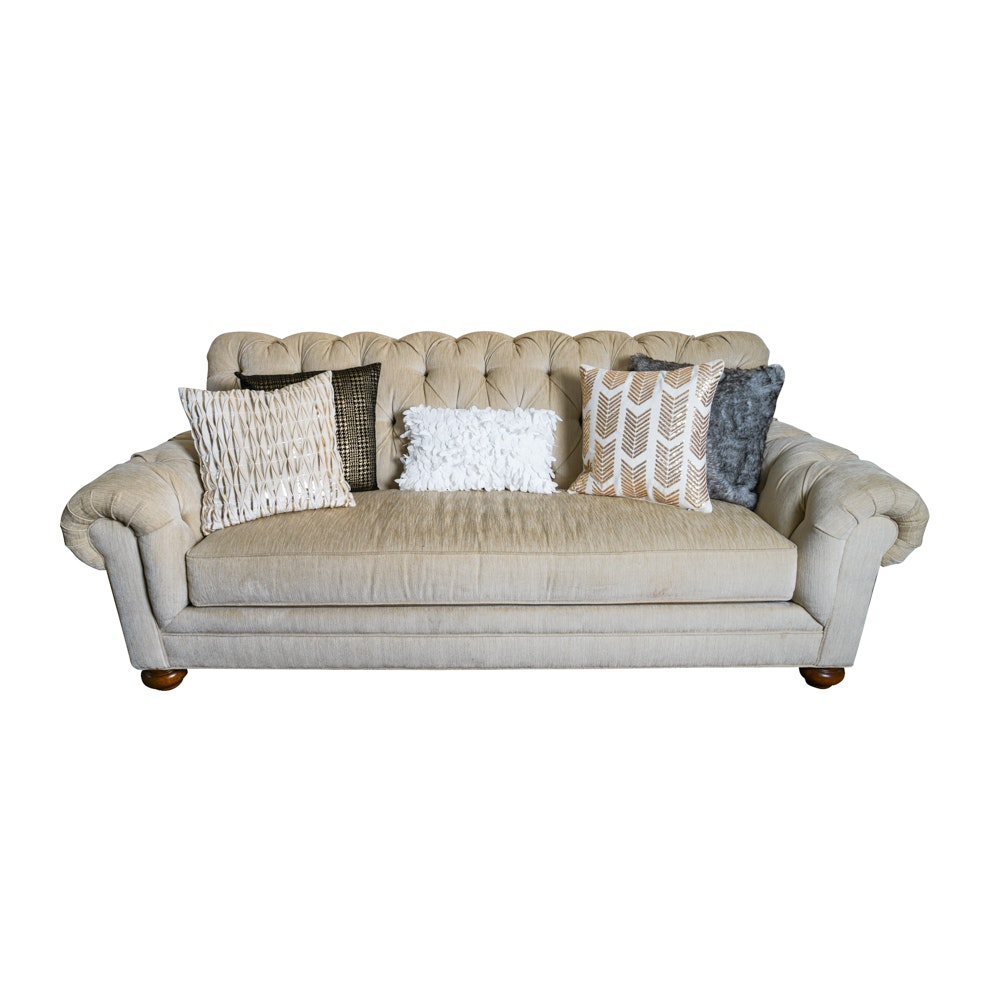 Ethan Allen Chesterfield Sofa