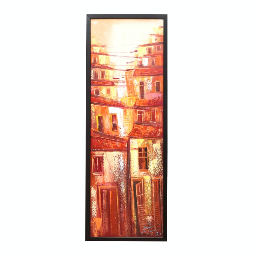 Arnaldo de Moraes Original Oil Painting On Canvas