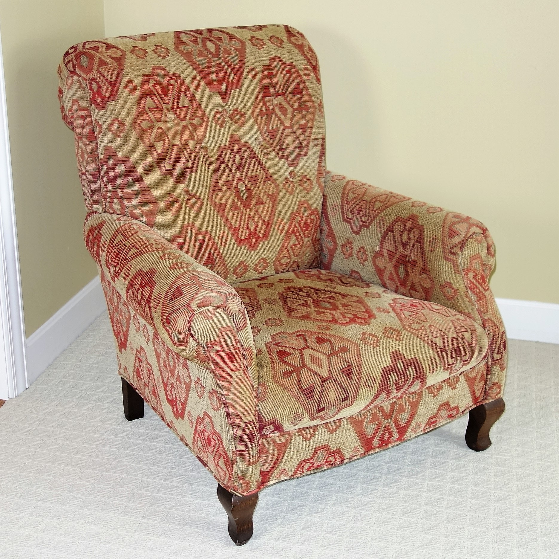 """""""Scottsdale Moss"""" Upholstered Armchair by Arhaus"""
