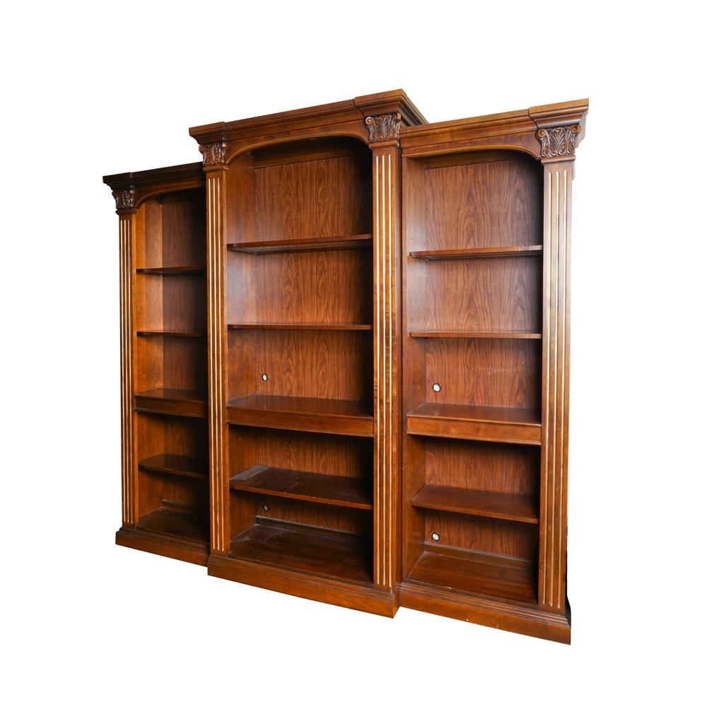 Stanley Coronthia Breakfront Bookcase