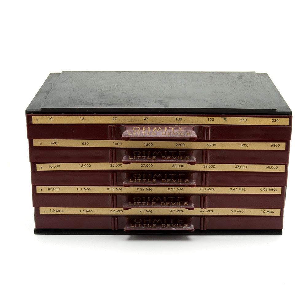Vintage Ohmite Little Devils Cabinet ...