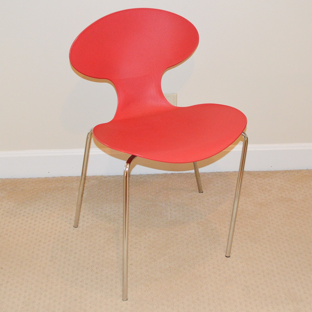Red Plastic Chair by Target