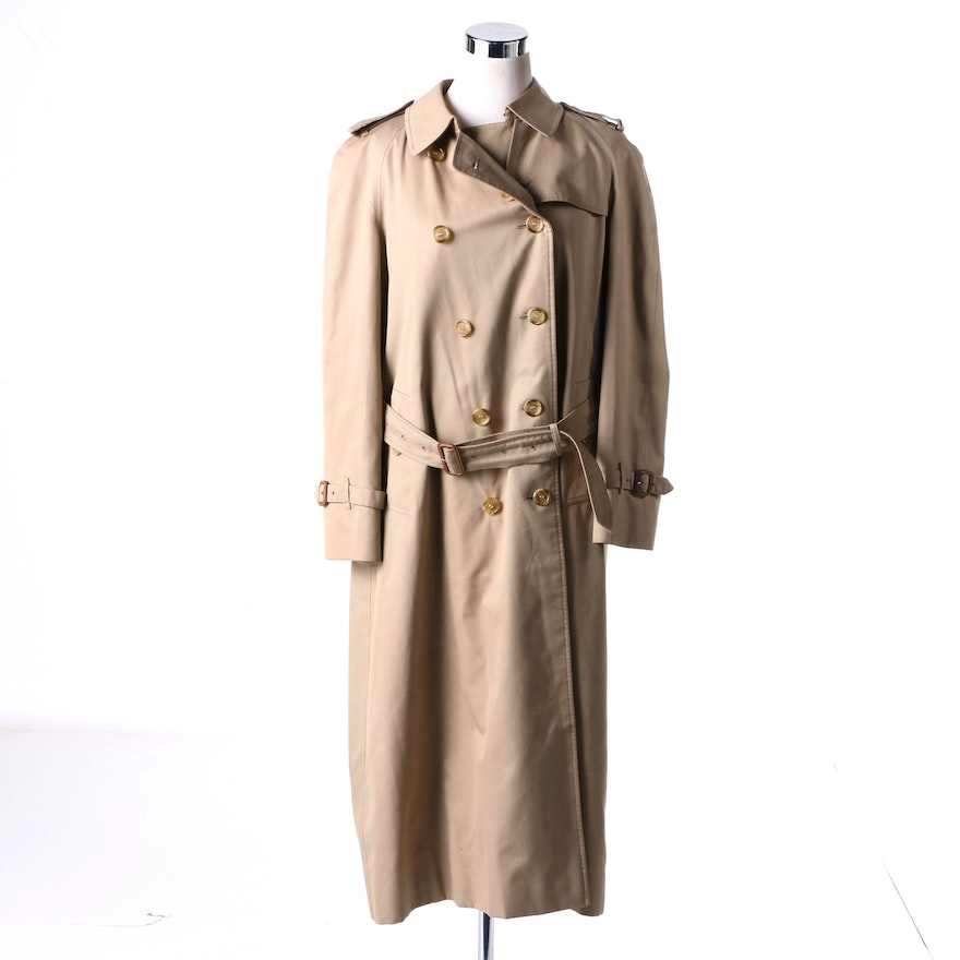 6e15d0c215c Women s Burberry Trench Coat with Removable Liner   EBTH
