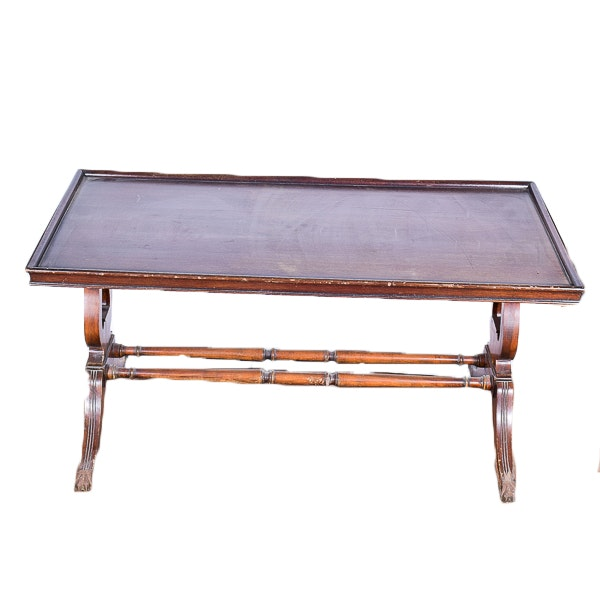 Vintage Tray Top Coffee Table