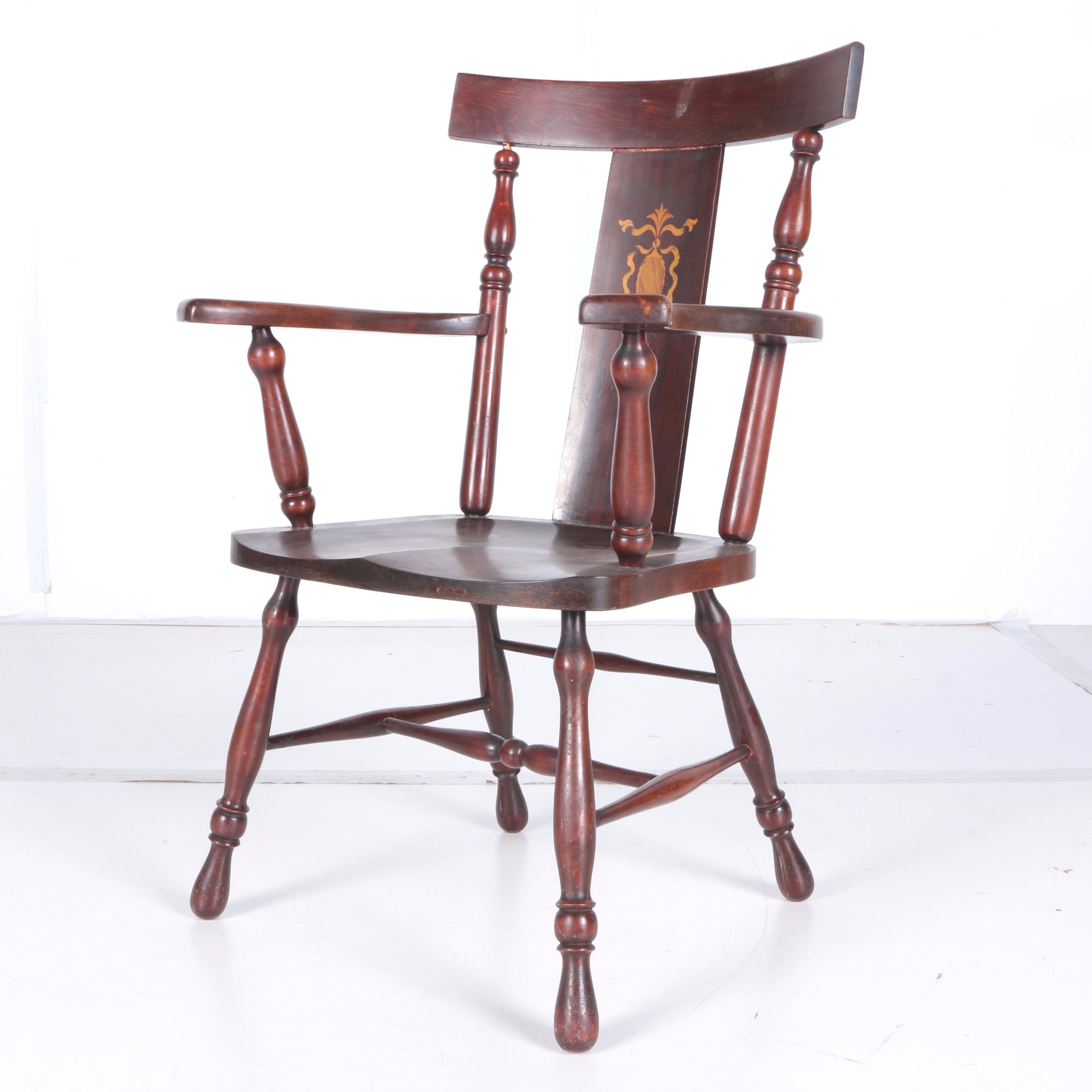 Vintage Yoke Back Chair