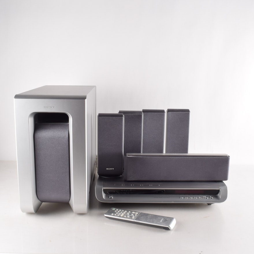 sony dvd home theater and surround sound systems ebth. Black Bedroom Furniture Sets. Home Design Ideas