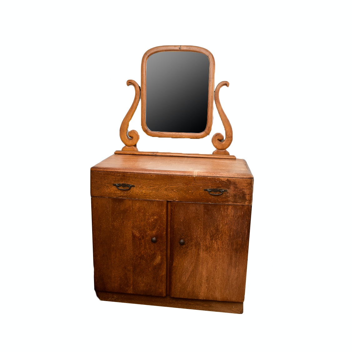 Heywood-Wakefield Cabinet With Mirror