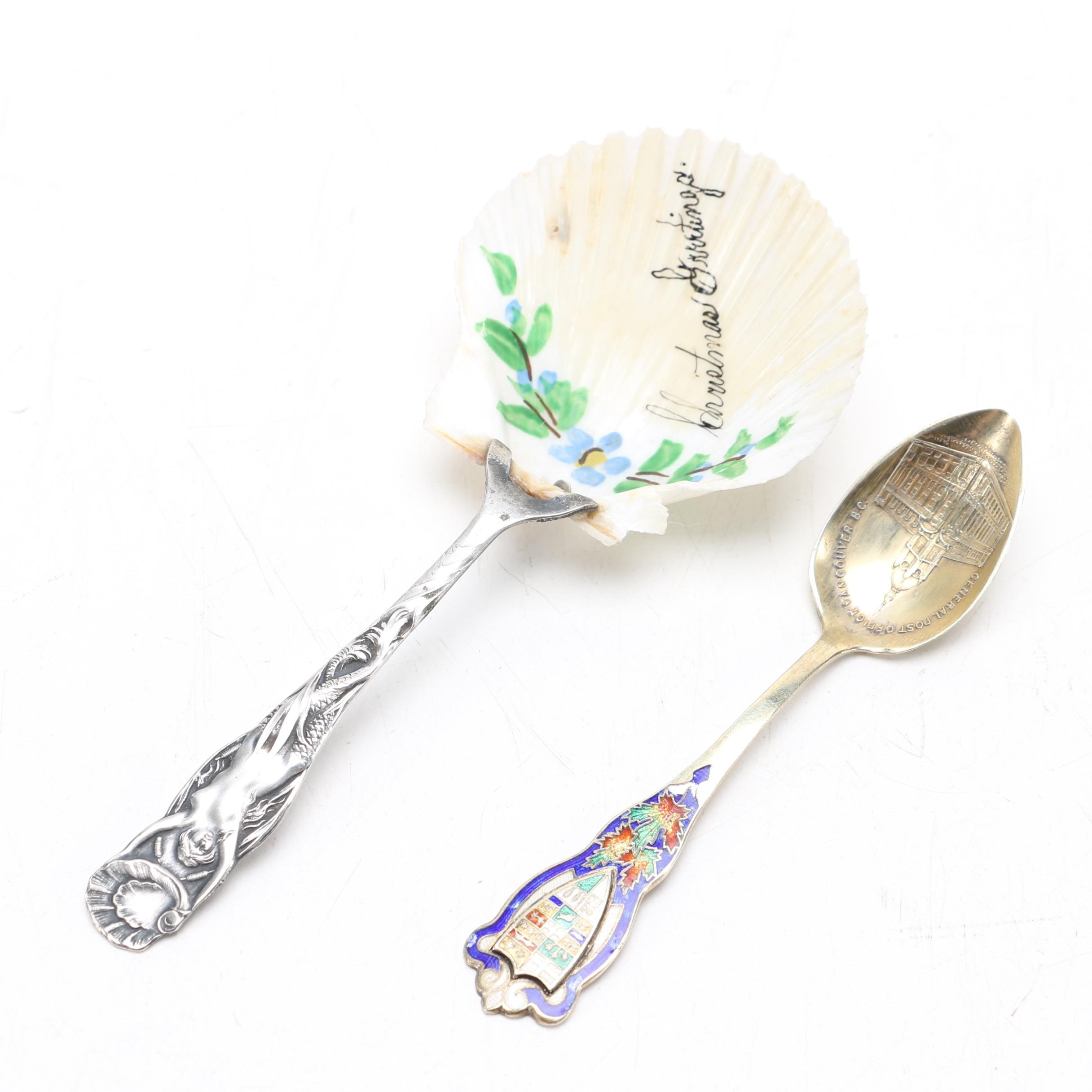 Sterling and Silver Plate Spoons Featuring U.S. Sterling Co.