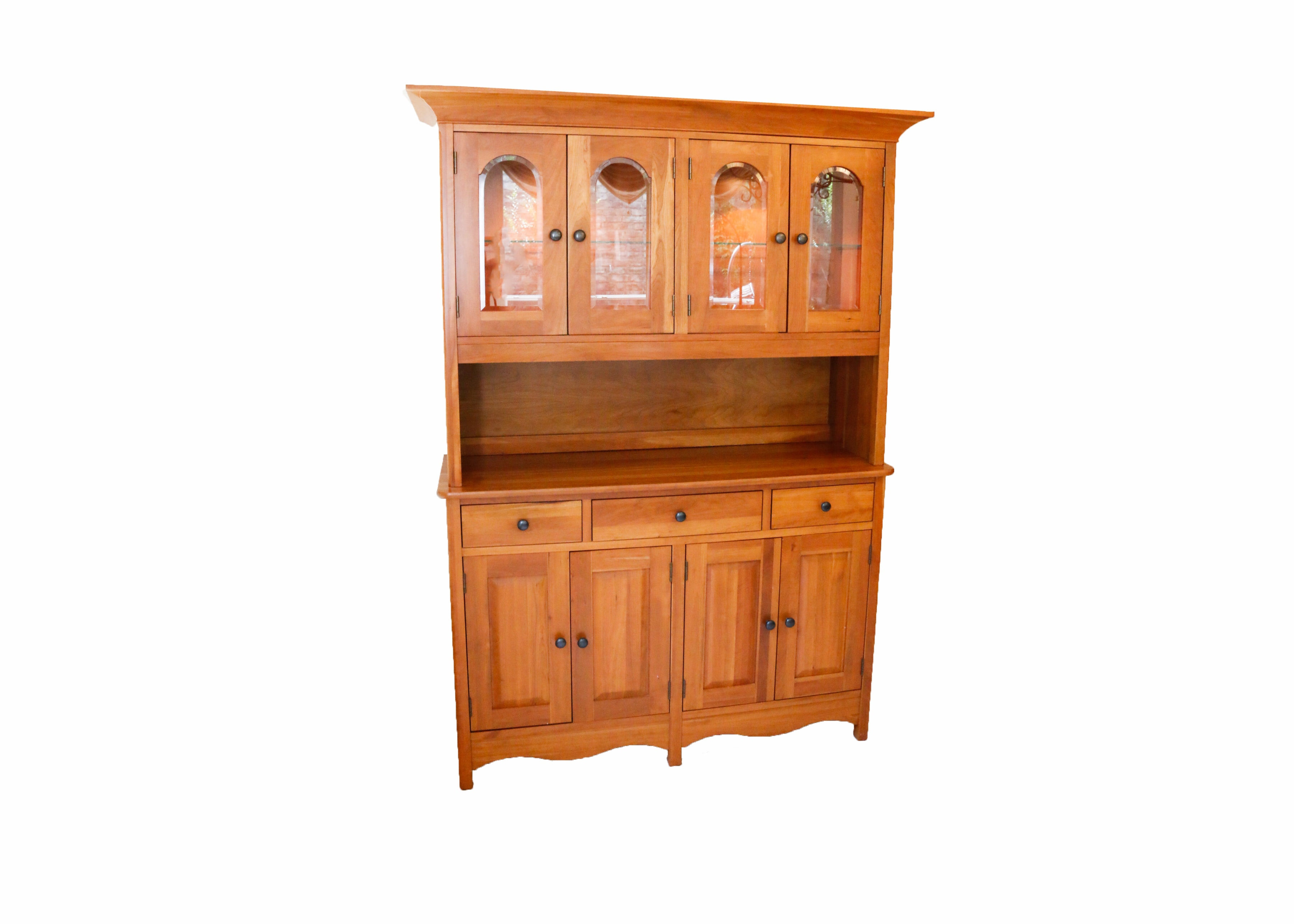 Richardson Brothers Company Lighted China Hutch ...