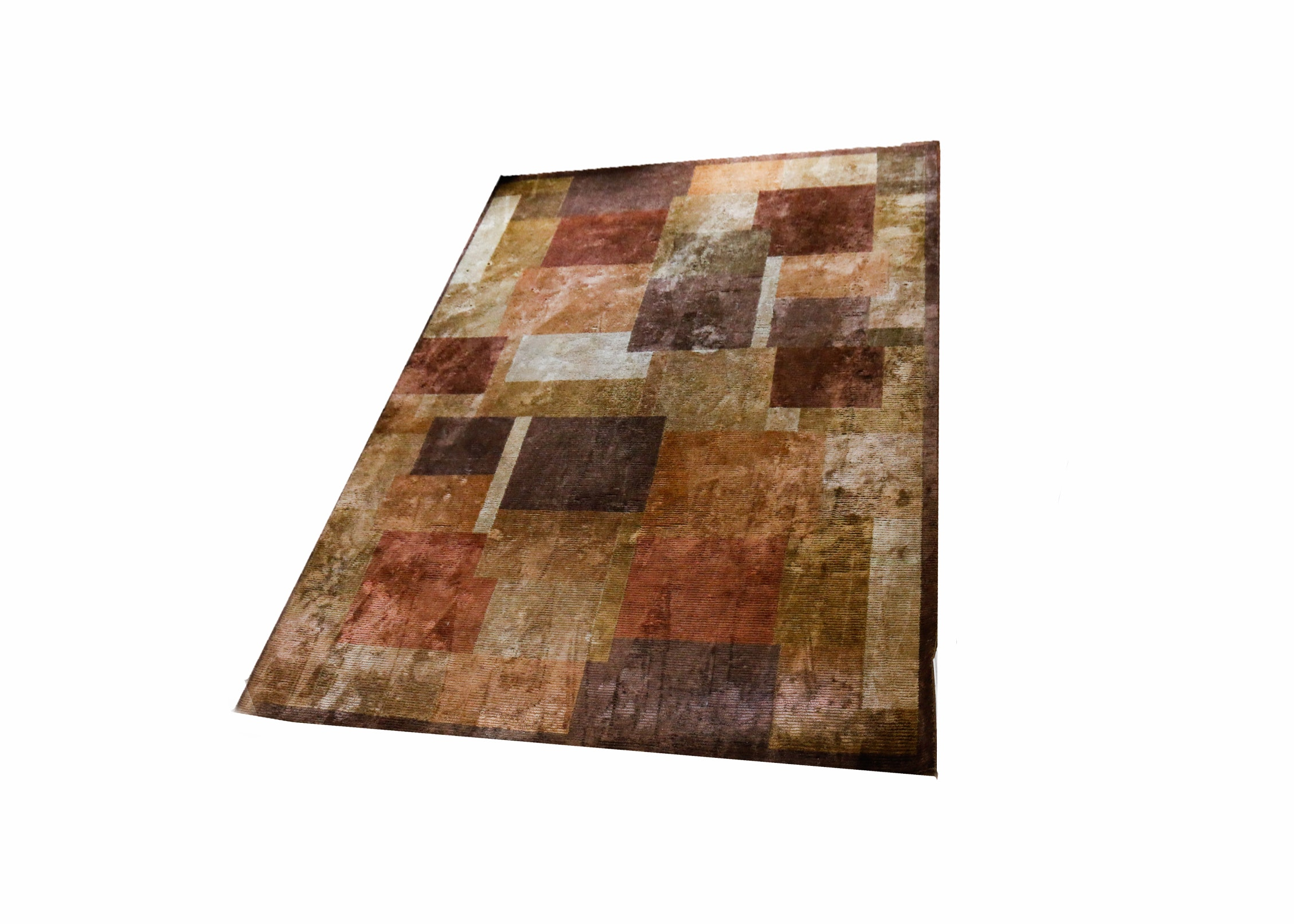 Contemporary Indian Silk Area Rug From Fiezy