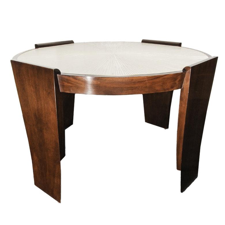 Thomas Pheasant For Baker Furniture Radiant Center Table ...