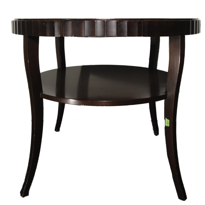 Barbara Barry For Baker Furniture Fluted Dining Table ...