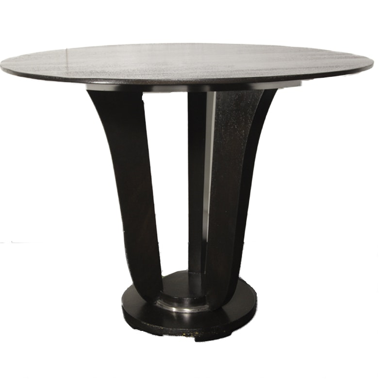Barbara Barry For Baker Furniture Art Deco Inspired Mahogany End Table ...