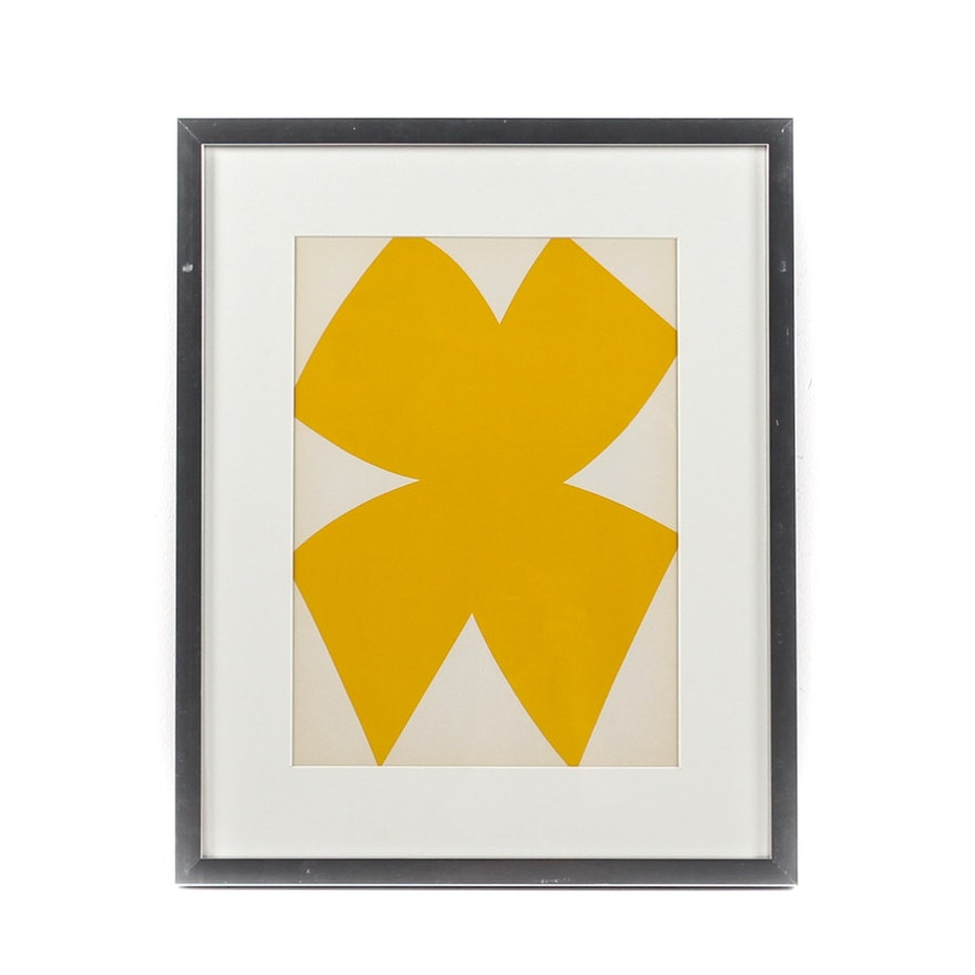 Derrier le miroir lithograph of ellsworth kelly 39 s work for Derrier le miroir