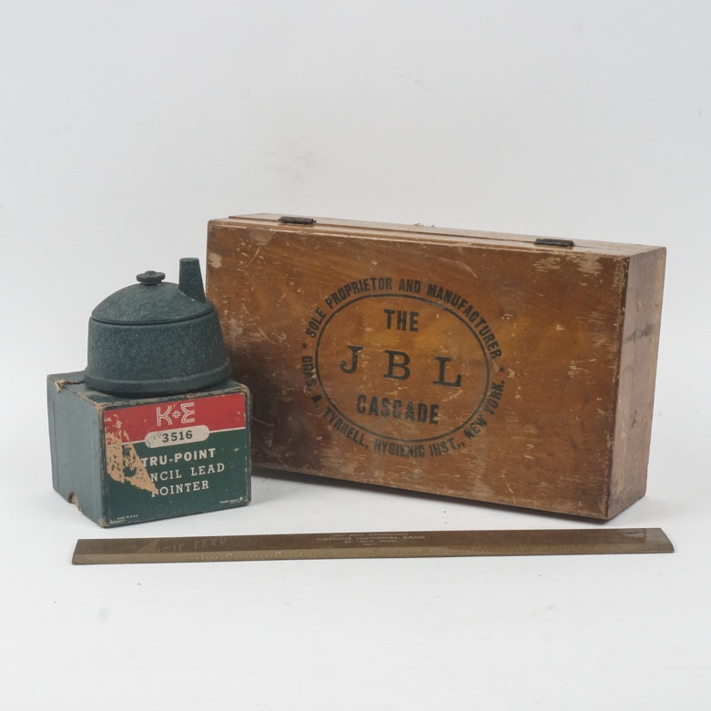 Collection of Vintage Office Items