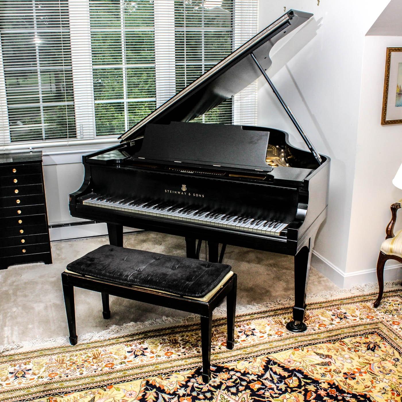 1921 Steinway & Sons Medium Grand Piano