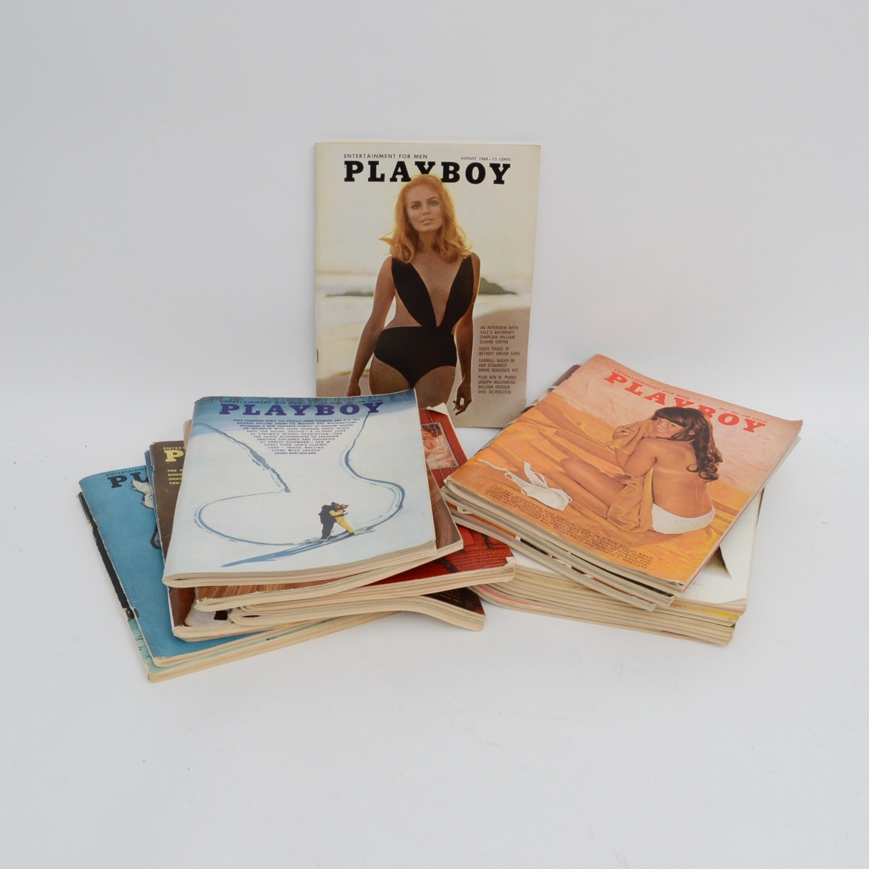 "Collection of 1960s ""Playboy"" Magazines"