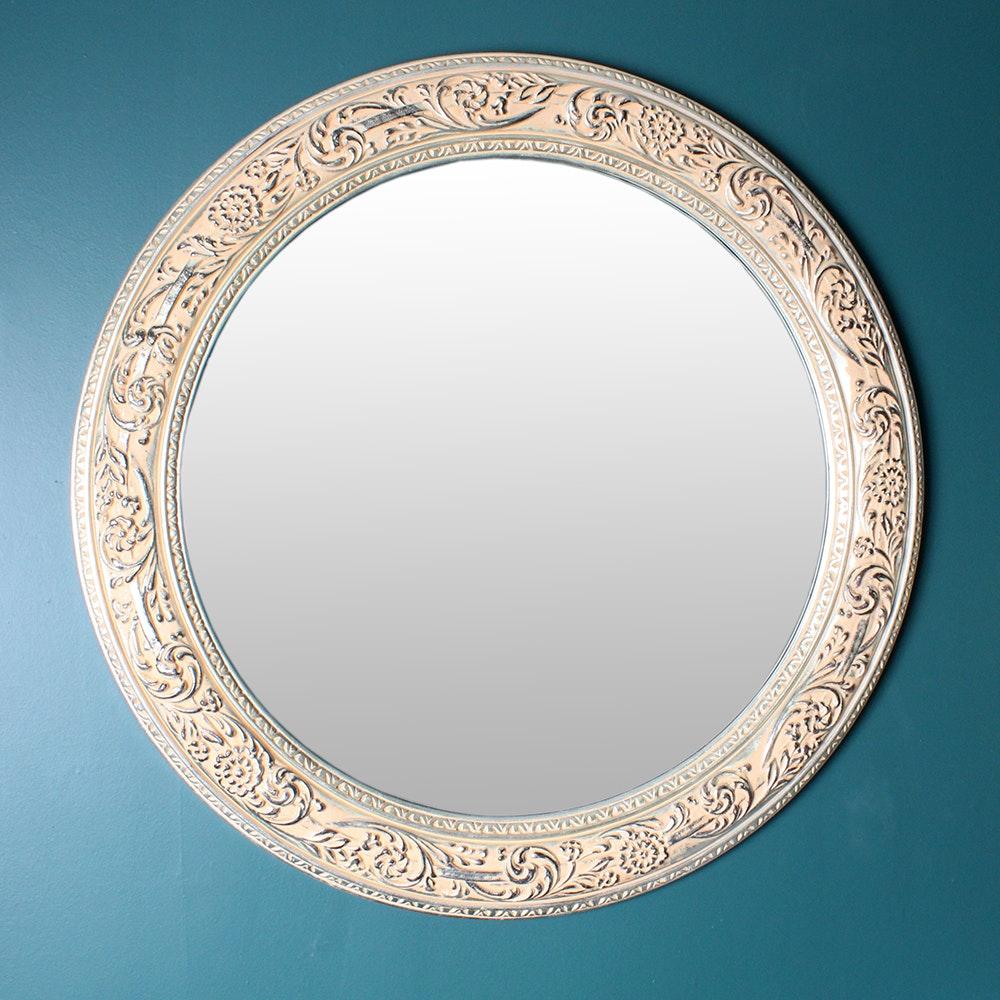 Large Ornate Pattern Wall Mirror