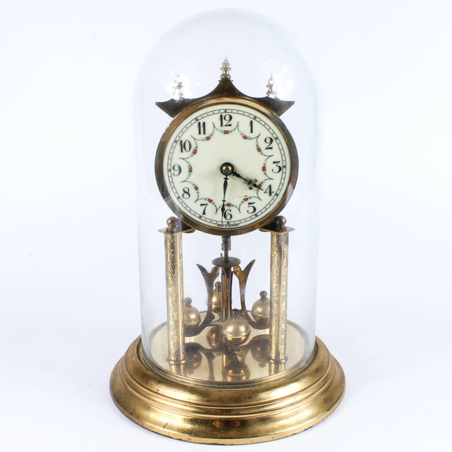 vintage german konrad mauch anniversary clock - Anniversary Clock