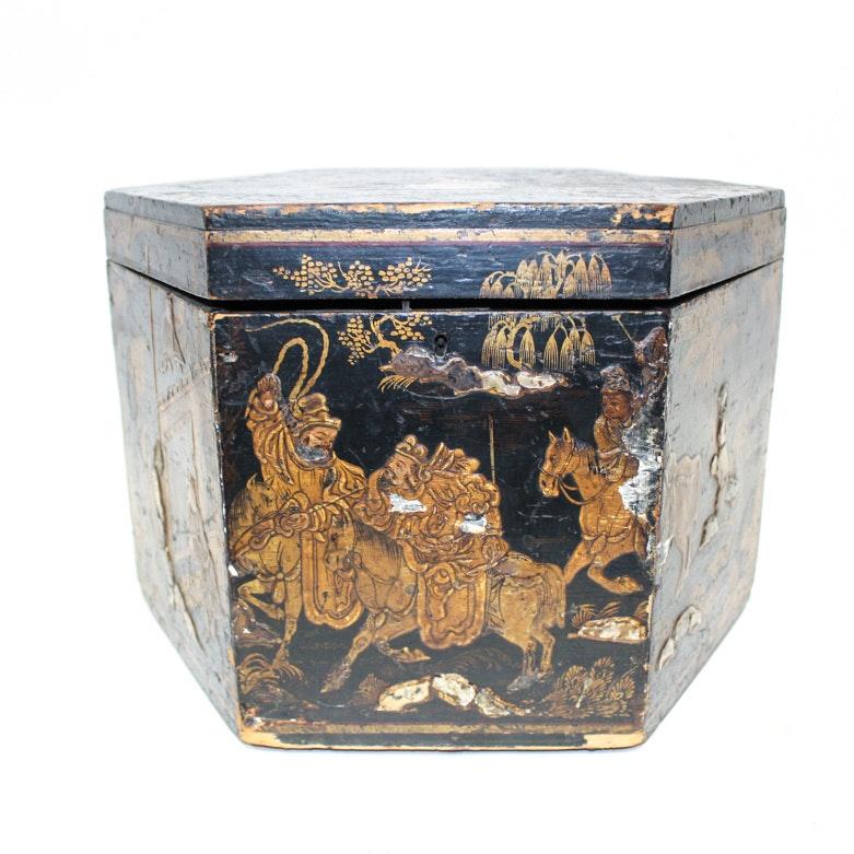 Antique Chinoiserie Box