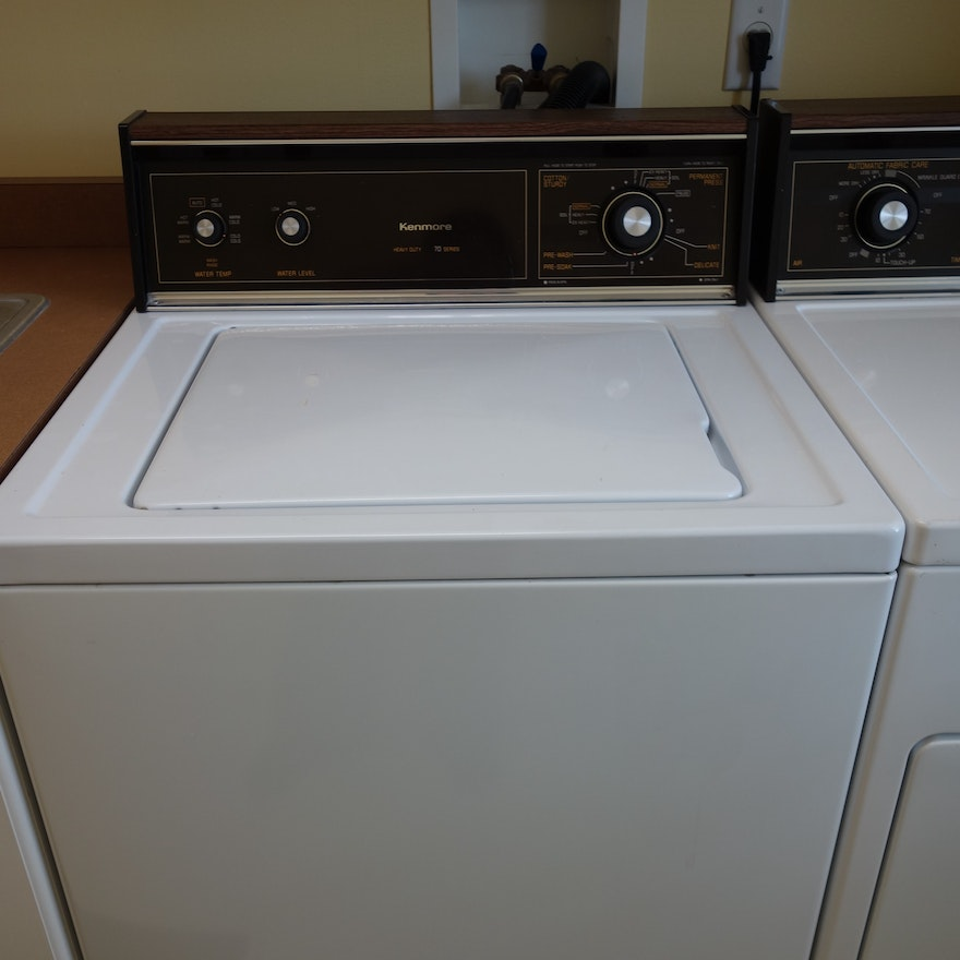 Kenmore Heavy Duty 70 Series Washing Machine & Kenmore