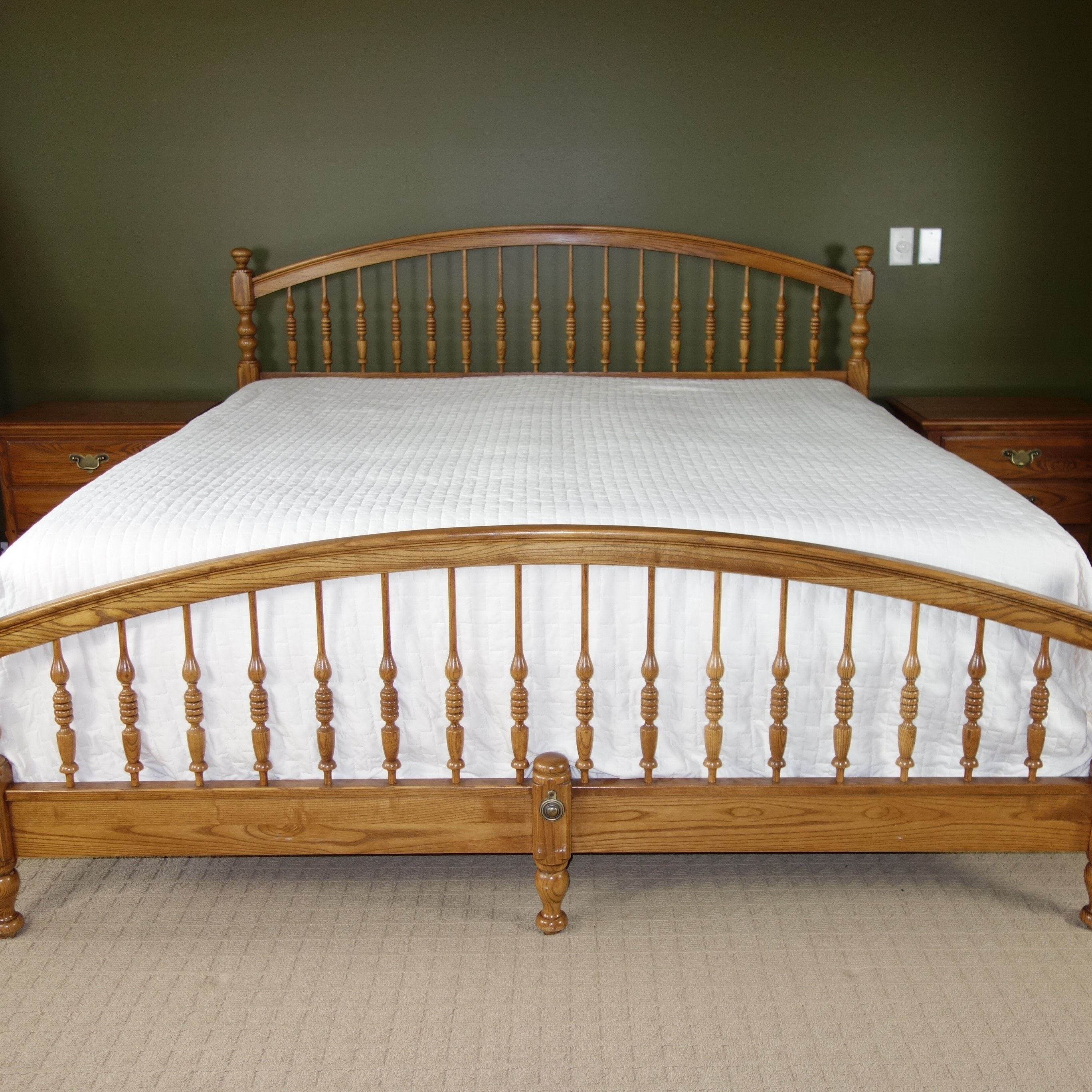 Five-Piece King Size Bedroom Set by Durham Furniture