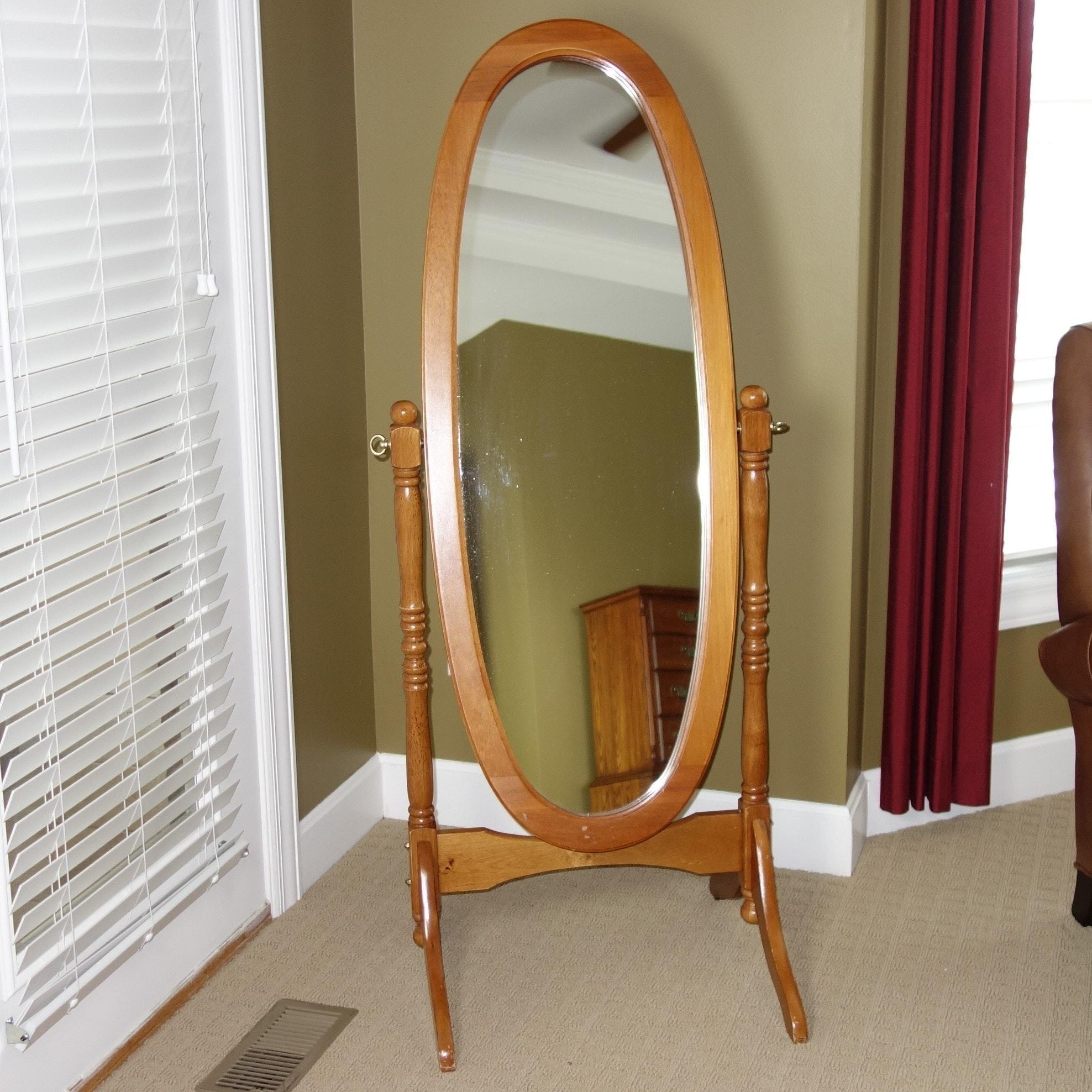 Contemporary Cheval Floor Mirror