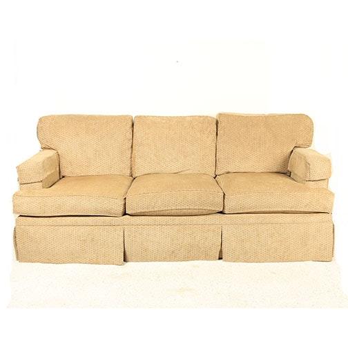 Upholstered Sofa By Henredon