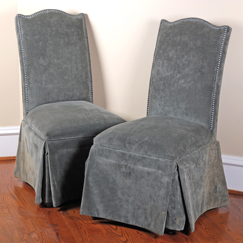 Pair of Parson's Chairs by DesignMaster