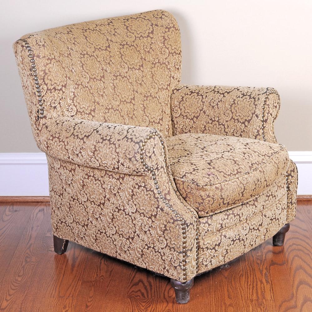 Robin Bruce Floral Motif Wingback Armchair