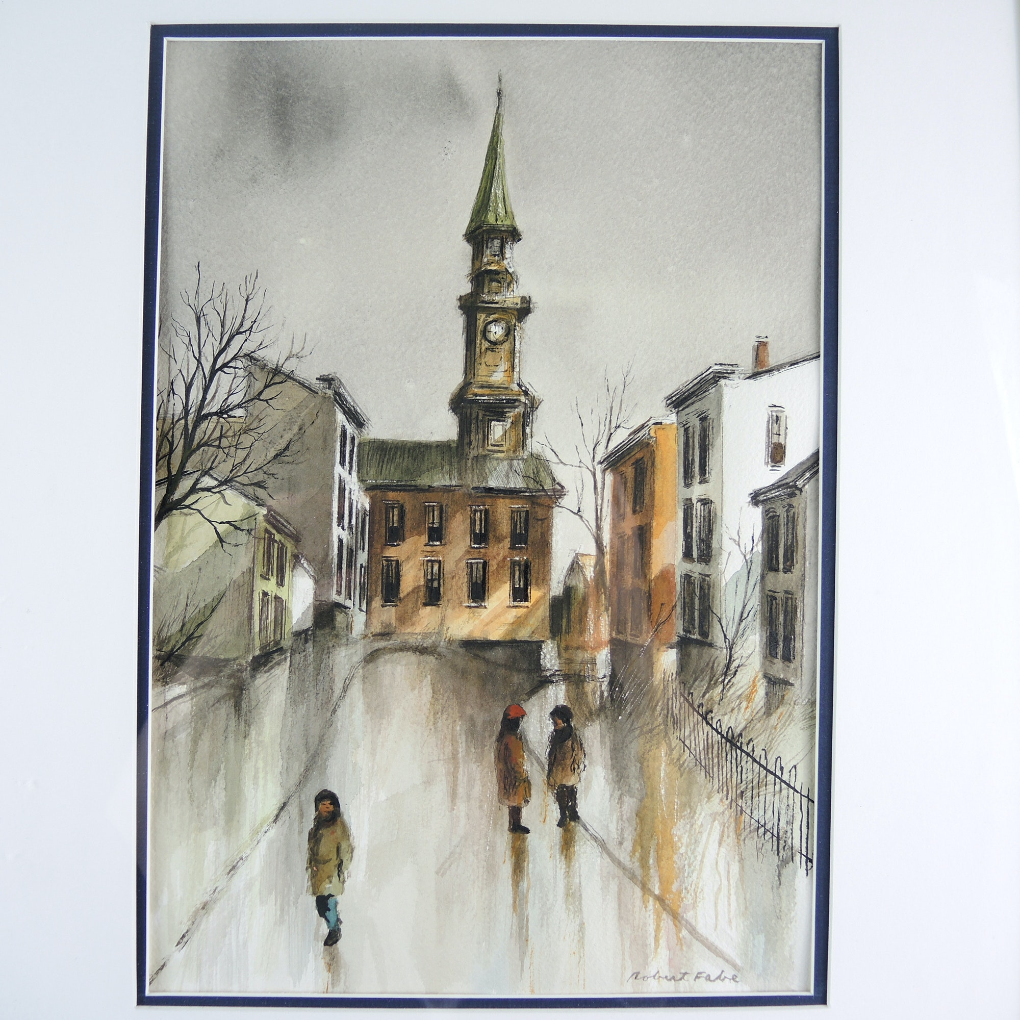 Robert Fabe Original Signed Painting