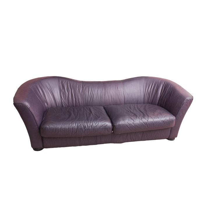 Quebec 69 Leather Sofa