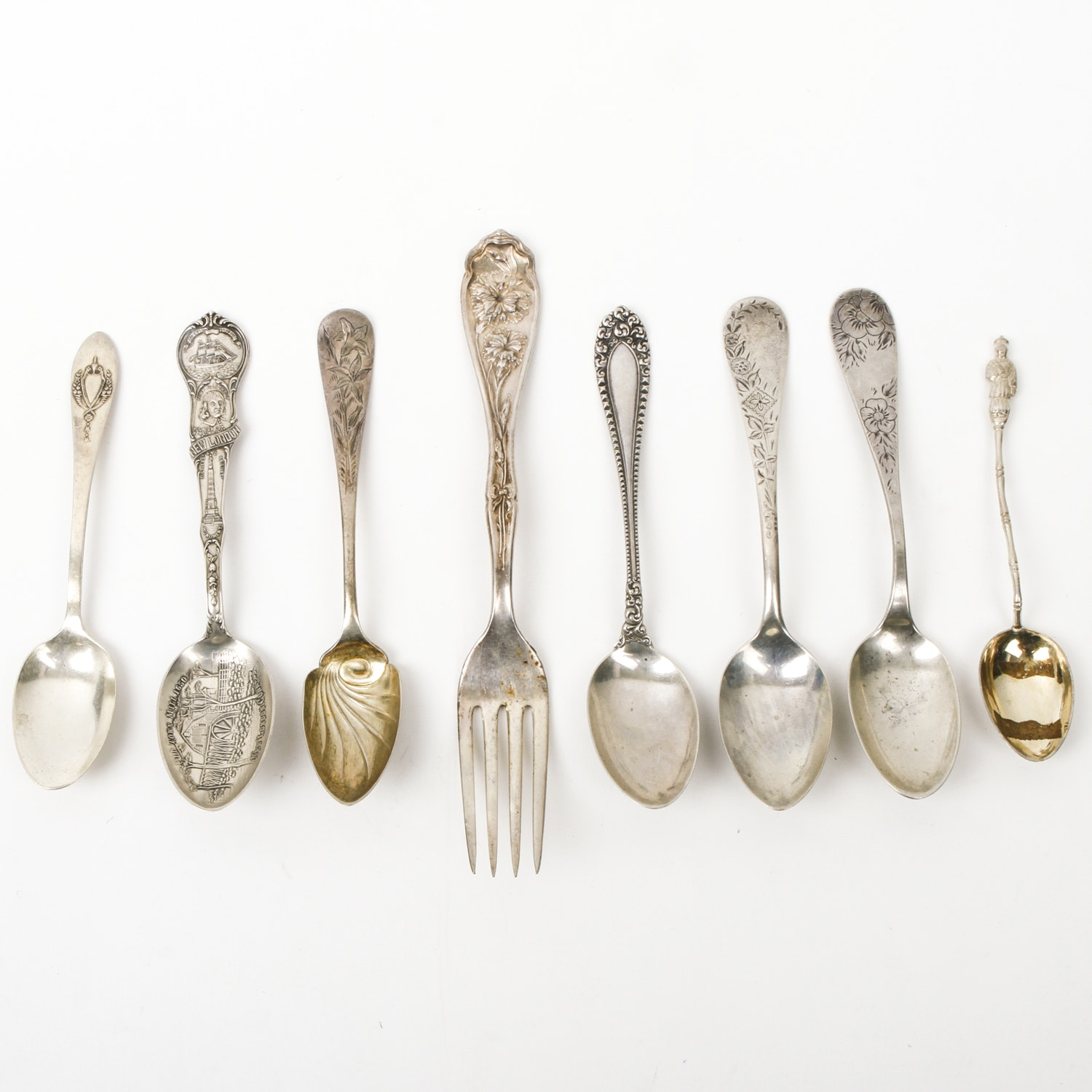 Assortment of Vintage and Antique Sterling Silver Flatware