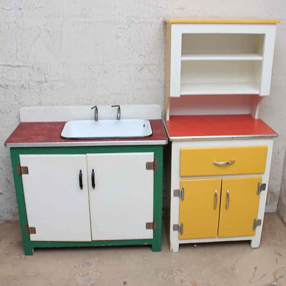 Vintage Child S Play Kitchen Set Ebth