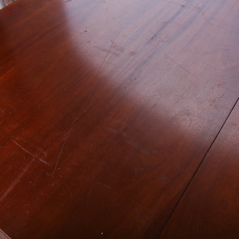 Vintage Drexel Mahogany Dining Room Table Ebth