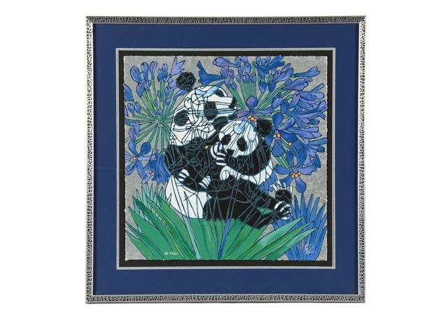 "Jiang Tie-Feng Artist's Proof Serigraph ""Beloved"""