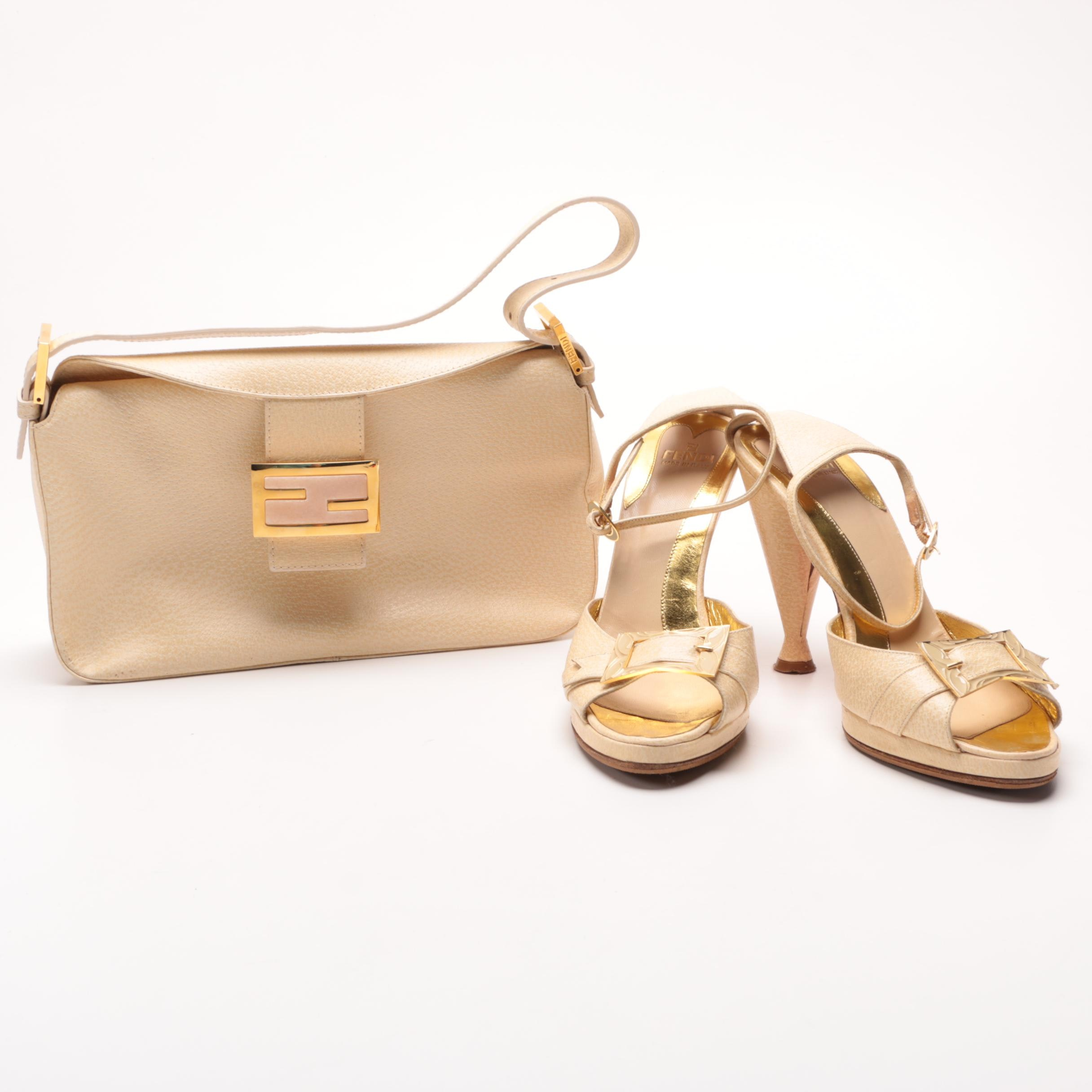 Fendi Leather Bag and Heels