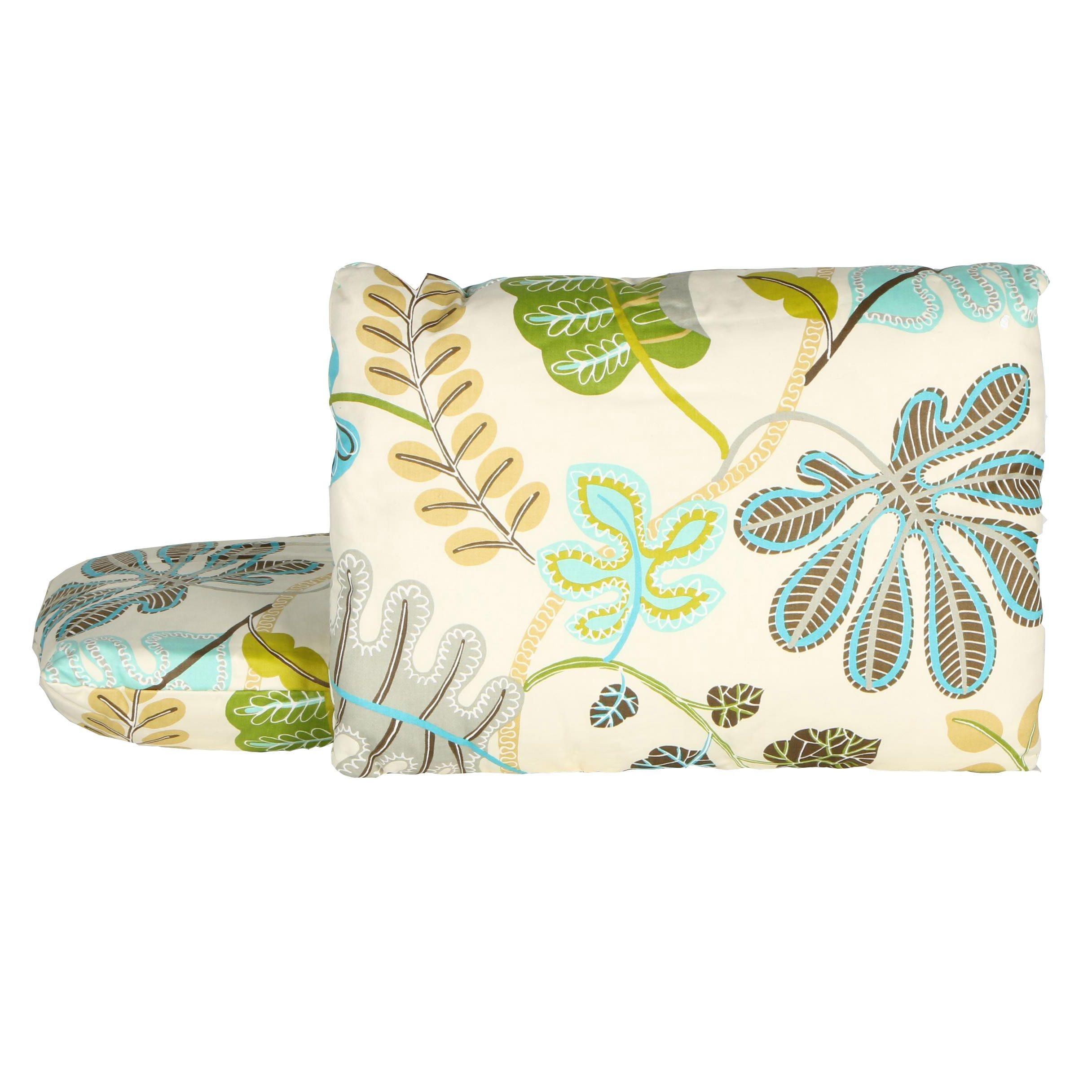 Pair of Floral Decorative Pillows