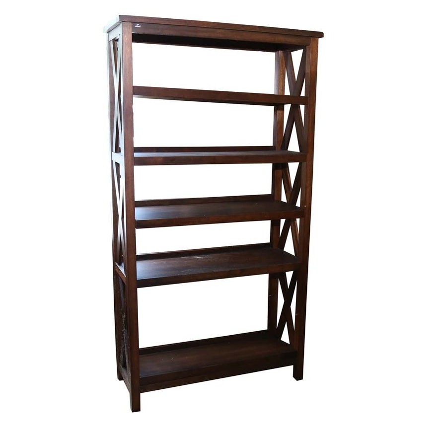 World Market Verona Six Shelf Bookshelf