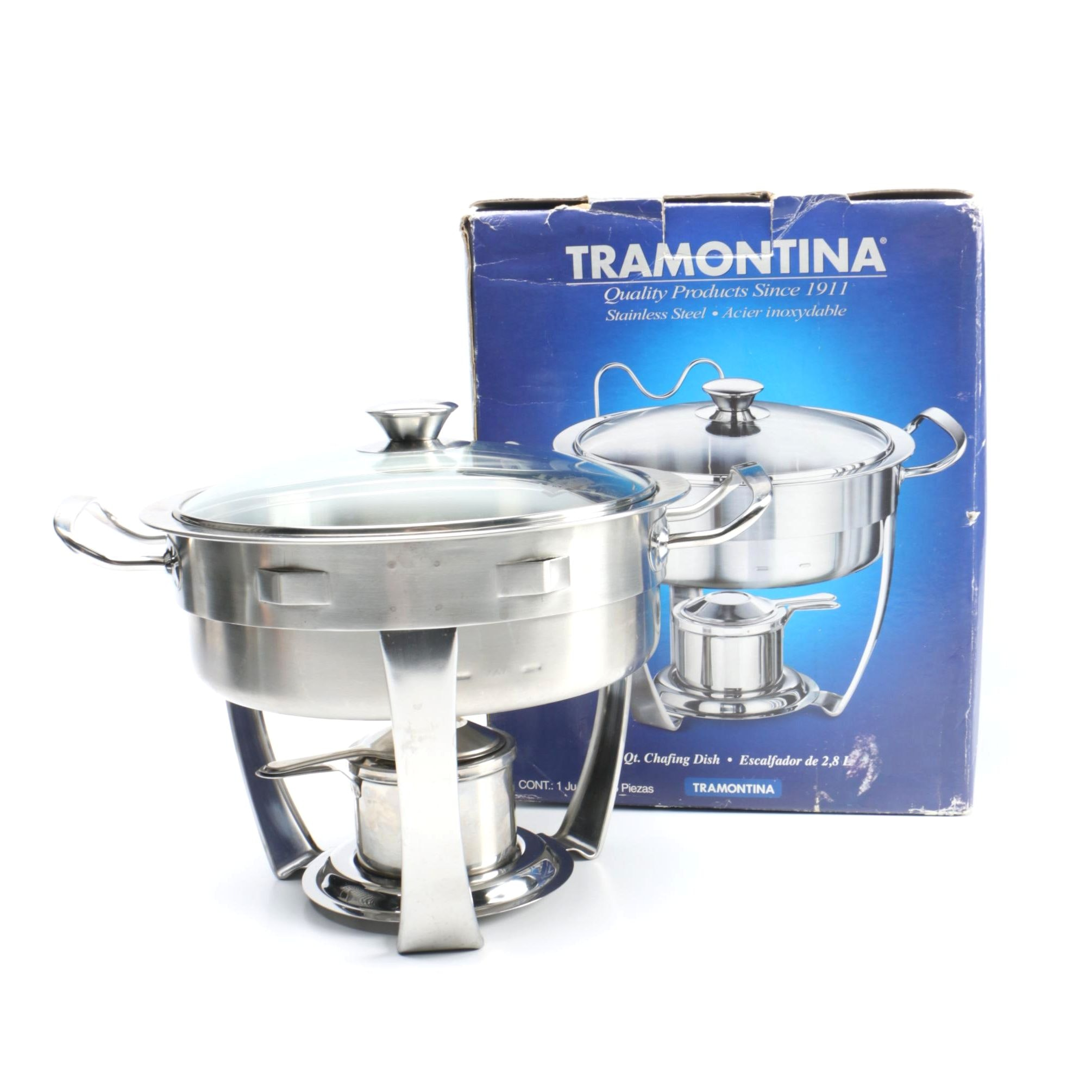 Tramontina Stainless Steel Chafing Dish