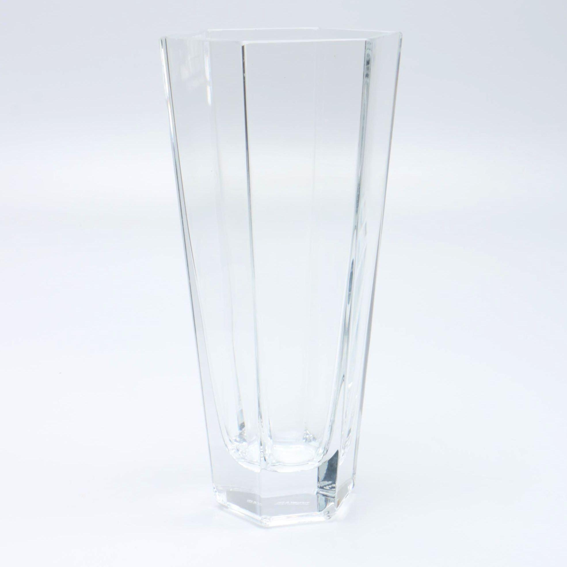 """Tiffany & Co. """"Frank Lloyd Wright"""" Crystal Vase"""