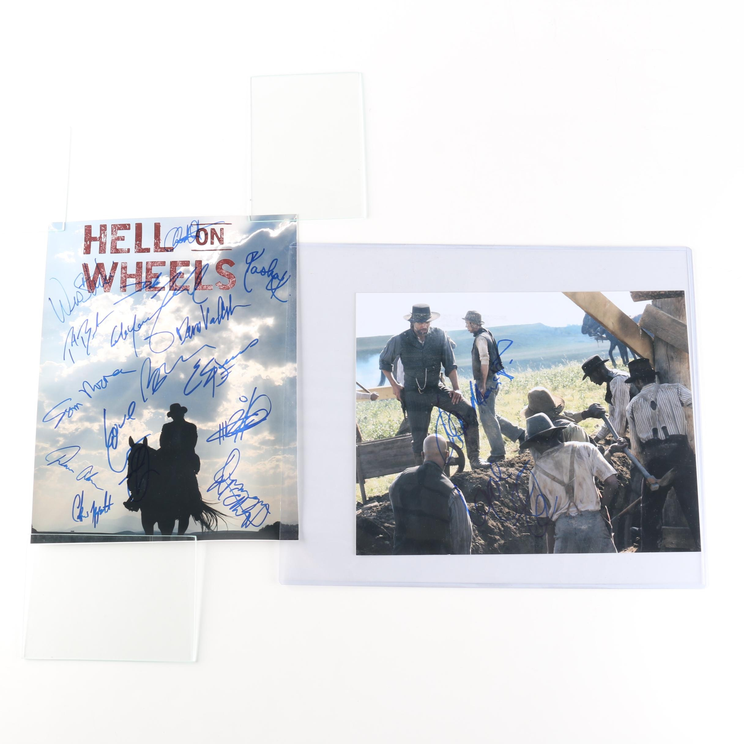 """Hell on Wheels"" Signed Photos"