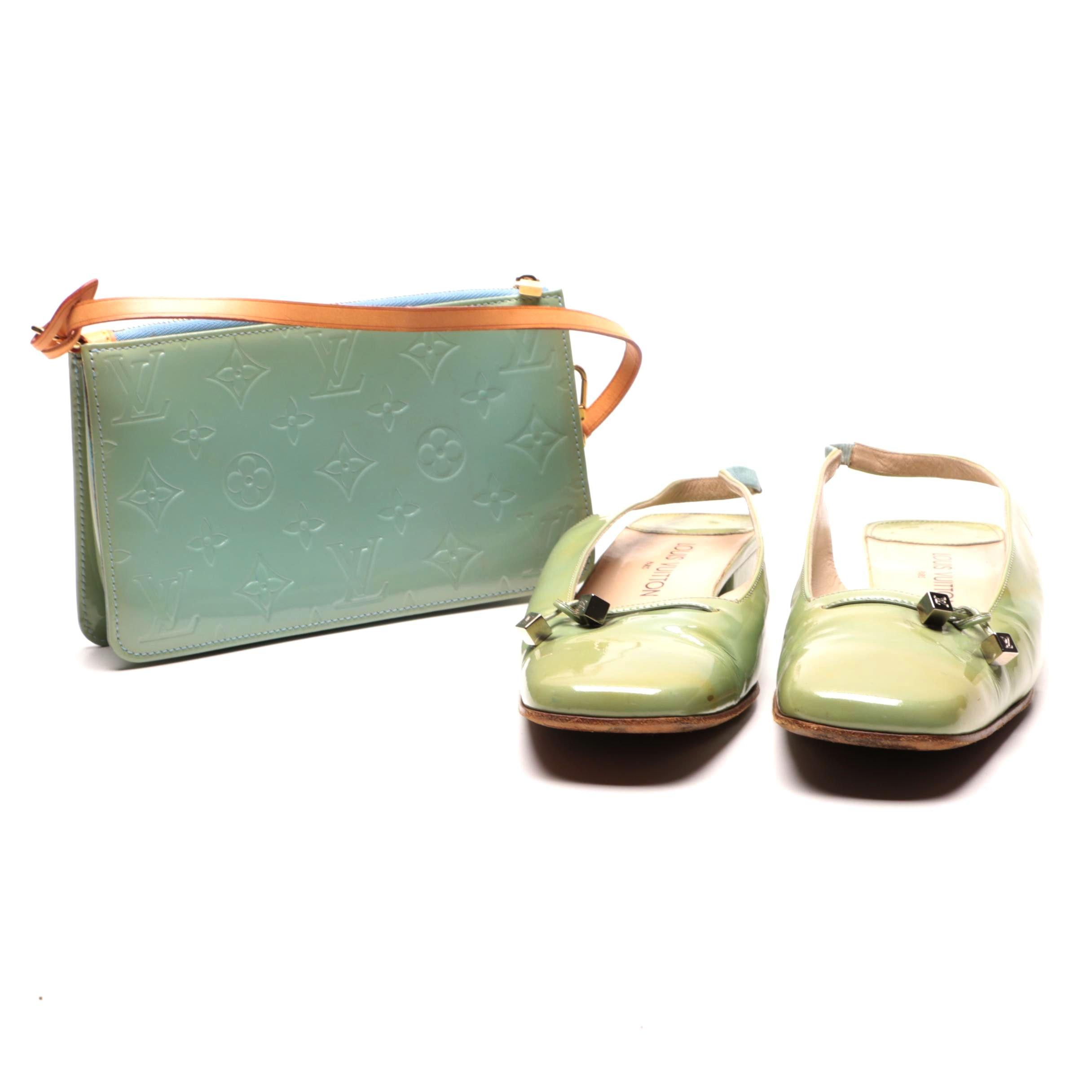 Louis Vuitton Wristlet and Shoes