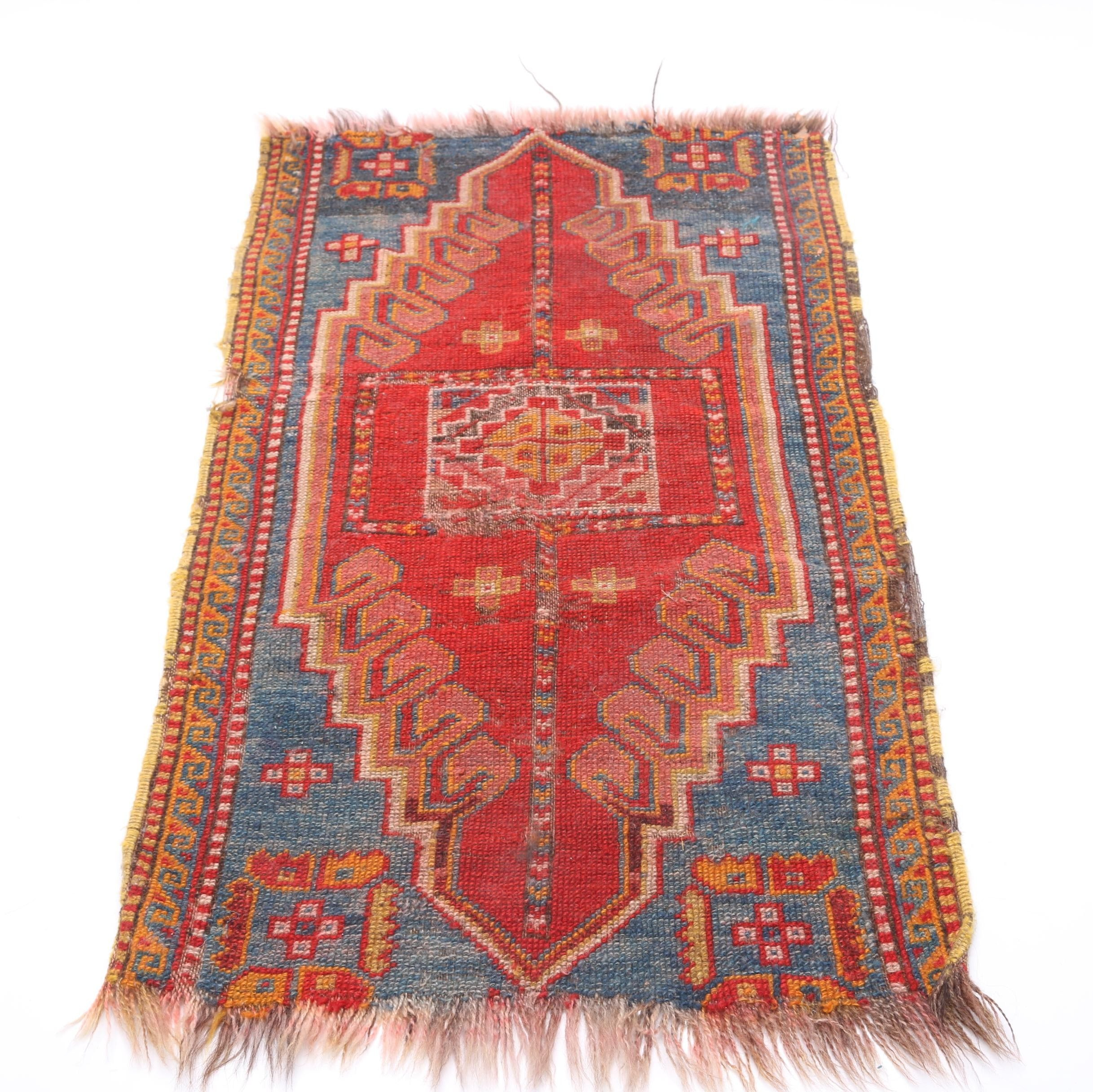 Handwoven Turkish Tribal Yastik