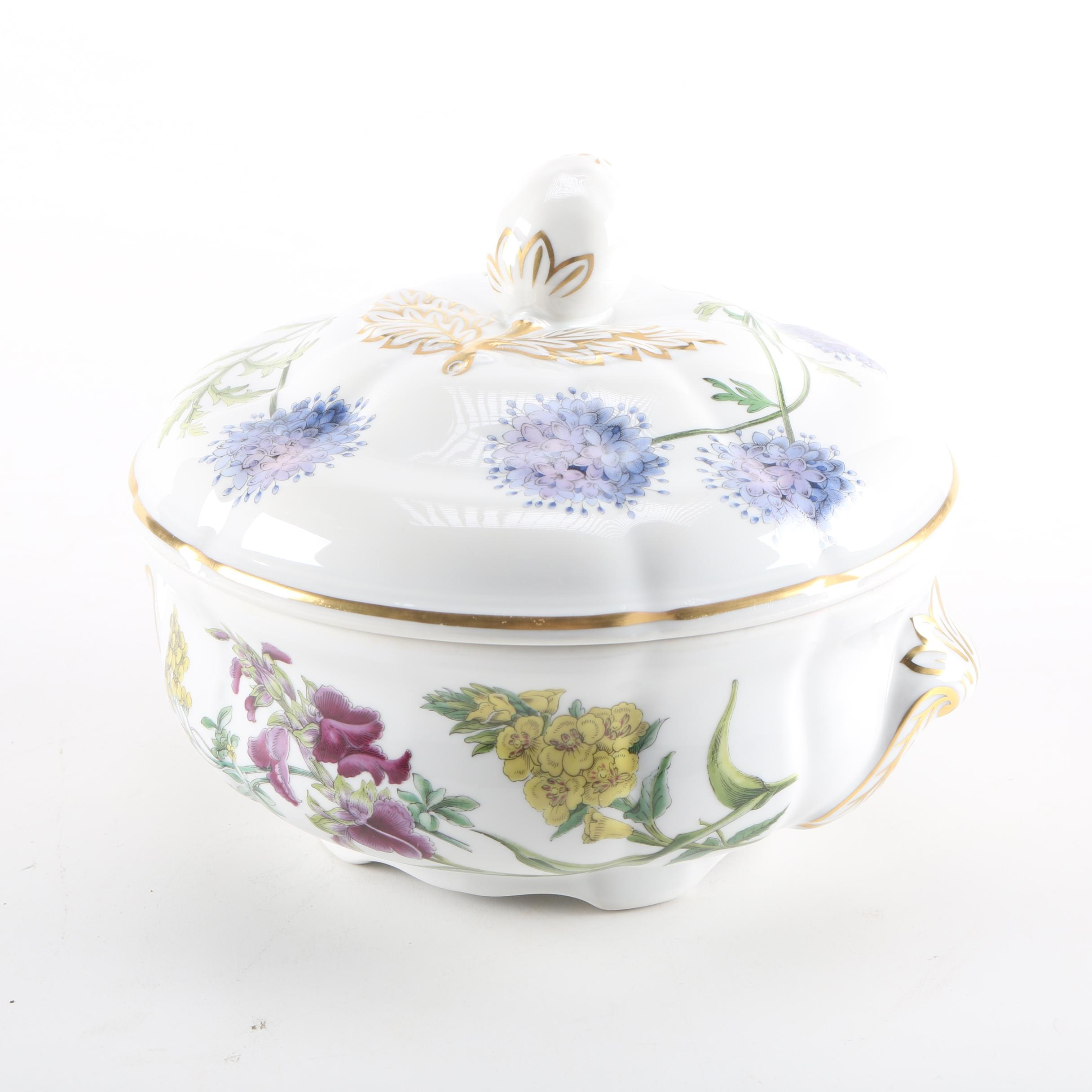 Spode \ Stafford Flowers\  Oven to Tableware ...  sc 1 st  EBTH.com : spode stafford flowers oven to tableware - pezcame.com