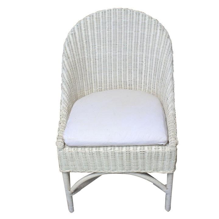 Lloyd Loom Inspired Wicker Chair