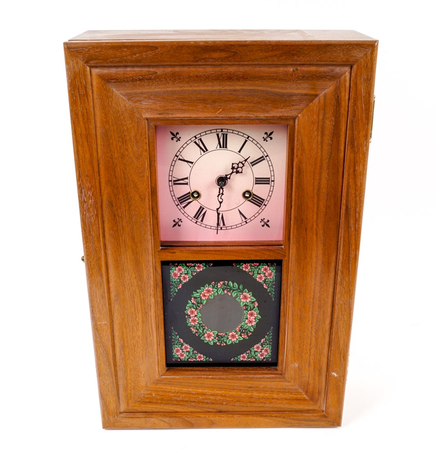 Handmade wall clock ebth handmade wall clock amipublicfo Gallery
