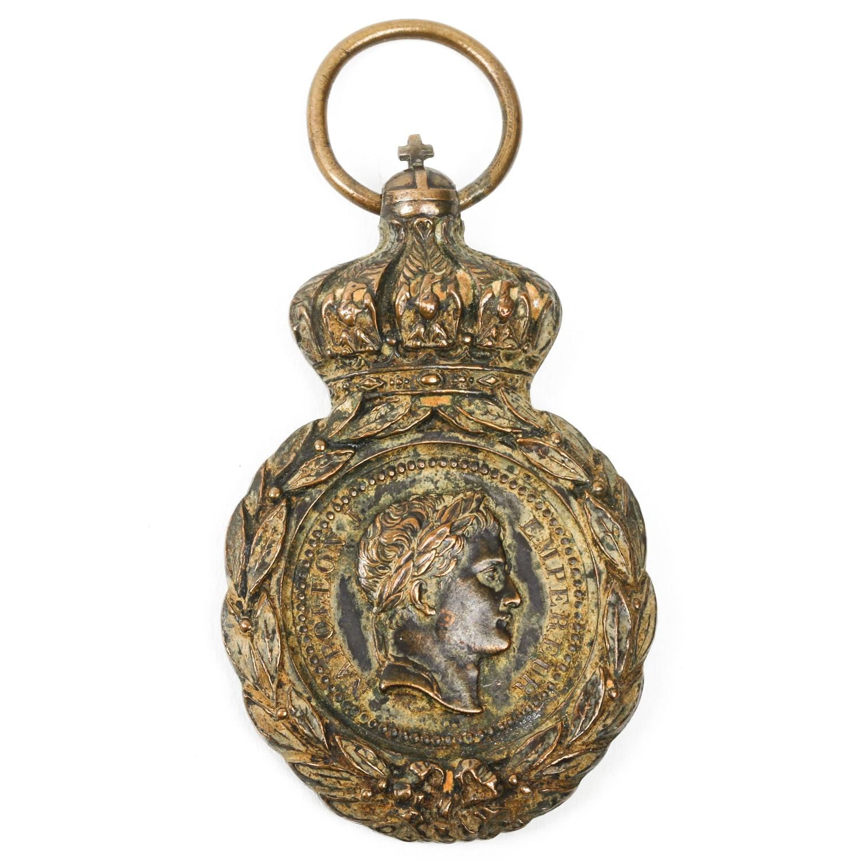 1857 Bronze Napolean I St. Helena Medal
