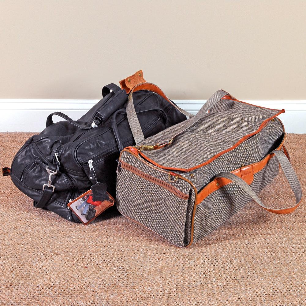 Pair of Traveler's Duffel Bags