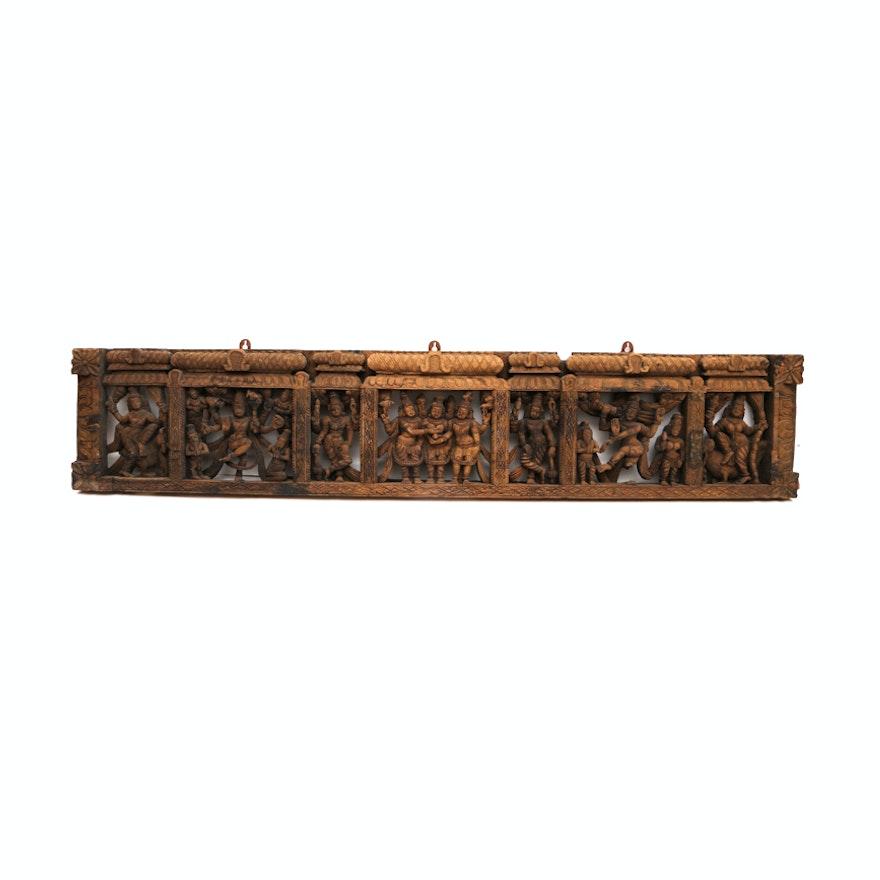 Asian Wooden Wall Art 55